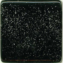 Miila Studios Studio Line Glass Tile 2 x 6 Black Sky
