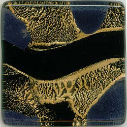 Miila Studios Studio Line Glass Tile 1 x 6 Gypsy Gold