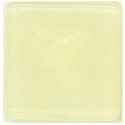 Miila Studios Studio Line Glass Tile 2 x 2 Light Lemon