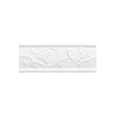 Mohawk Accent Statements - Ceramic (Discontinued) Star White Castlemere Accent Strip 3684