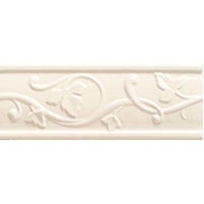 Mohawk Accent Statements - Ceramic (Discontinued) Ivory Lace Castlemere Accent Strip 3685