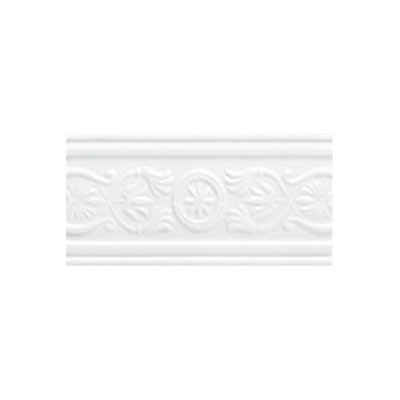 Mohawk Accent Statements - Ceramic (Discontinued) Star White Castlemere Accent Strip 3686