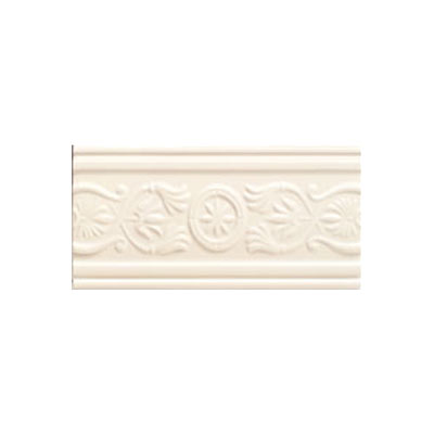 Mohawk Accent Statements - Ceramic (Discontinued) Ivory Lace Castlemere Accent Strip 3687