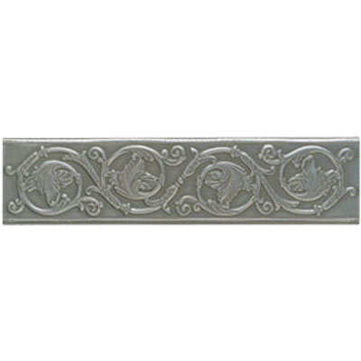 Mohawk Accent Statements - Metals (Discontinued) Vintage Pewter Scrolling Leaf Accent Strip 5552