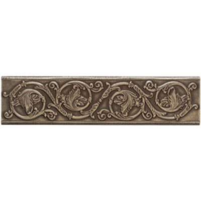 Mohawk Accent Statements - Metals (Discontinued) Vintage Bronze Scrolling Leaf Accent Strip 5553