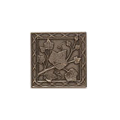 Mohawk Accent Statements - Metals (Discontinued) Vintage Bronze English Ivy Decorative Insert 5555