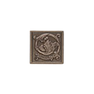 Mohawk Accent Statements - Metals (Discontinued) Vintage Bronze Scrolling Leaf Decorative Insert 5559