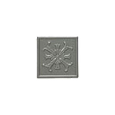Mohawk Accent Statements - Metals (Discontinued) Vintage Pewter Fiore Decorative Insert 5560