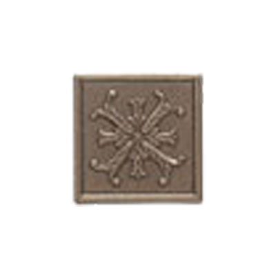 Mohawk Accent Statements - Metals (Discontinued) Vintage Bronze Fiore Decorative Insert 5561