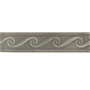 Mohawk Accent Statements - Metals (Discontinued) Vintage Pewter Scrollwork Border 6774