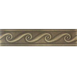 Mohawk Accent Statements - Metals (Discontinued) Vintage Bronze Scrollwork Border 6773