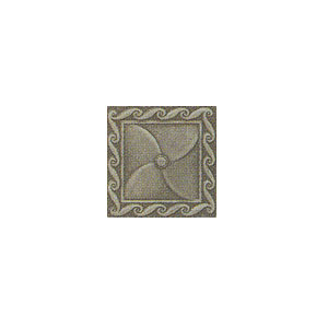 Mohawk Accent Statements - Metals (Discontinued) Vintage Pewter Scrollwork Insert 6772