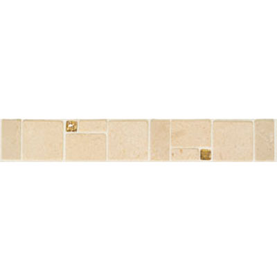 Mohawk Accent Statements - Stone (Discontinued) Dorato Bucaro Decorative Tumbled Border 5342