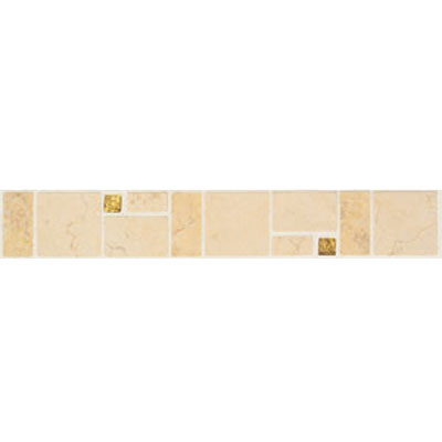 Mohawk Accent Statements - Stone (Discontinued) Noce Bucaro Decorative Tumbled Border 5343