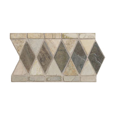 Mohawk Accent Statements - Stone (Discontinued) Autumn Mist Gold Marquis Slate Border 5491