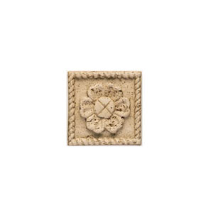 Mohawk Accent Statements - Travertine Resin (Discontinued) Travertine Flower Insert 5542