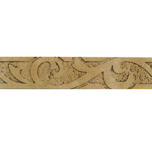 Mohawk Accent Statements - Travertine Resin (Discontinued) Bella Roca Sandblasted Accent Strip 6631
