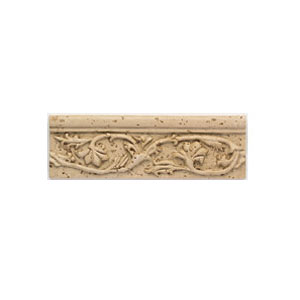 Mohawk Accent Statements - Travertine Resin (Discontinued) Garden Vine Accent Strip 5540