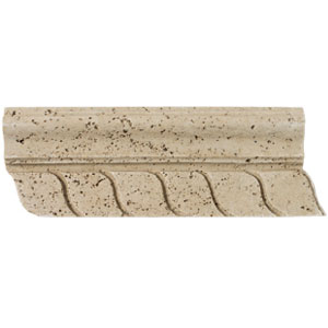 Mohawk Accent Statements - Travertine Resin (Discontinued) Laredo Resin Accent Strip 4436