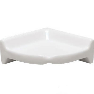 Mohawk Bath Accessories Star White Corner Shelf 4397