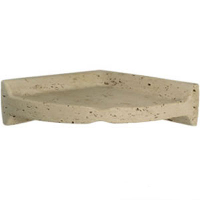 Mohawk Bath Accessories Travertine Corner Shelf 4493