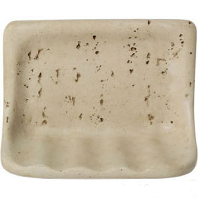 Mohawk Bath Accessories Travertine Soap Dish 4497