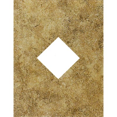 Mohawk Bella Rocca Wall 9 x 12 (Diamond Cut-Out) Etruscan Gold 6628