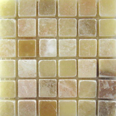 Mohawk Marblestone Mosaics Honed Honey Onyx 4552
