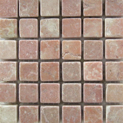 Mohawk Marblestone Mosaics Honed Tea Rose 4079