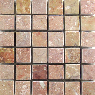 Mohawk Marblestone Mosaics Polished Tea Rose 4563