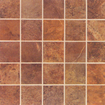 Mohawk Montara 12 x 12 Mosaic Red Rock 5534