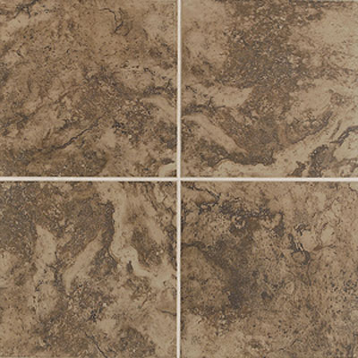 Mohawk Pavin Stone 10 x 14 Brown Suede 13826