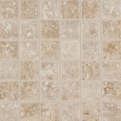 Mohawk Steppington Mosaic Beige/Taupe Blend 5078