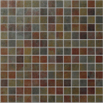 Onix Mosaico Earth Glass Mosaic Slate 2002144