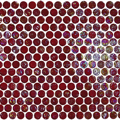 Onix Mosaico Geoglass Circle Circle 50 Fire Red 2000094