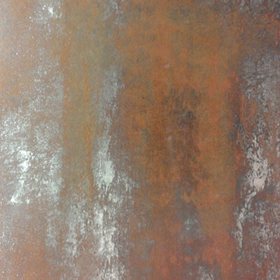 Pompeo Tile Forged Fusion Metals Rosso