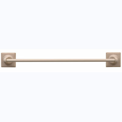 Questech Portico Bath Accessories Travertine Towel Bar/Rod Only 28 Inch SBA105-01