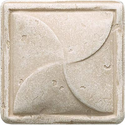 Questech Dorset Classics - Travertine Pinwheel Dot QUES1D12901