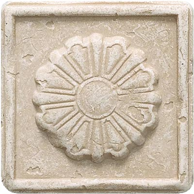 Questech Dorset Classics - Travertine Rosette Dot QUES1D13001