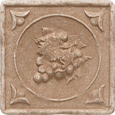 Questech Dorset Decoratives - Noche Fruit Cameo Deco QUES1D10902