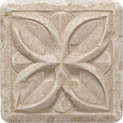 Questech Dorset Decoratives - Travertine Clover Dot QUES1D10801
