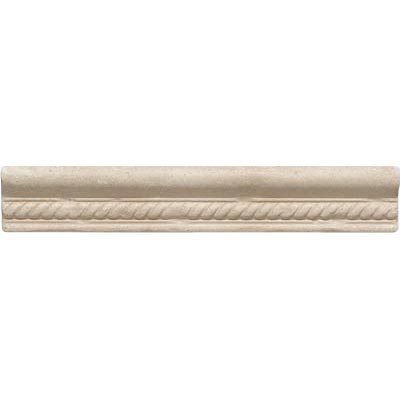 Questech Dorset Decoratives - Travertine Rope Ogee QUES1L10301