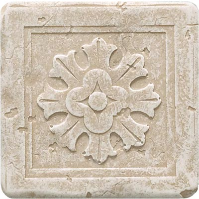 Questech Dorset Floor Accents - Travertine Essex Dot QUES1D13501