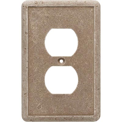Questech Dorset Switch Plates - Noche Single Duplex QUESW10102