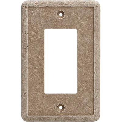 Questech Dorset Switch Plates - Noche Single GFCI QUESW10302