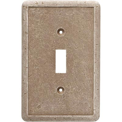 Questech Dorset Switch Plates - Noche Single Toggle QUESW10202