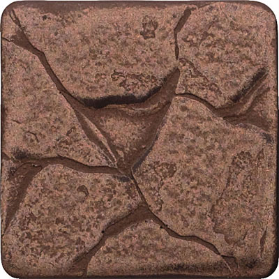 Questech Minted Metals Deco 2 x 2 Plaza Dot Bronze QUEM1D019065
