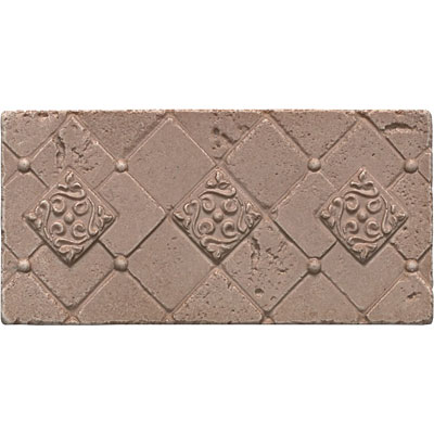 Questech Stone Shadow Brick 3x 6 Ibiza Travertine QUES1L17001