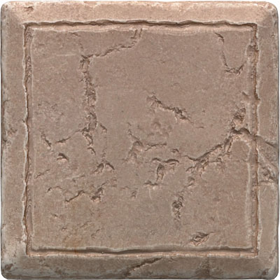 Questech Stone Shadow Deco 4 x 4 Doric Travertine QUES1D17601