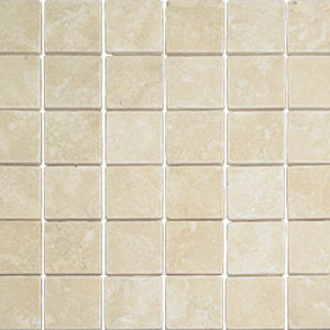 Questech Tumbled Marble Mosaic Castle Wheat QUETM10101